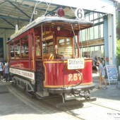 Straßenbahnmuseum Leipzig: Wagen 257