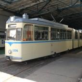 Straßenbahnmuseum Leipzig: Wagen 1206