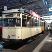 Straßenbahnmuseum Leipzig: Wagen 1464