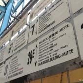Straßenbahnmuseum Leipzig: Linienvielfalt