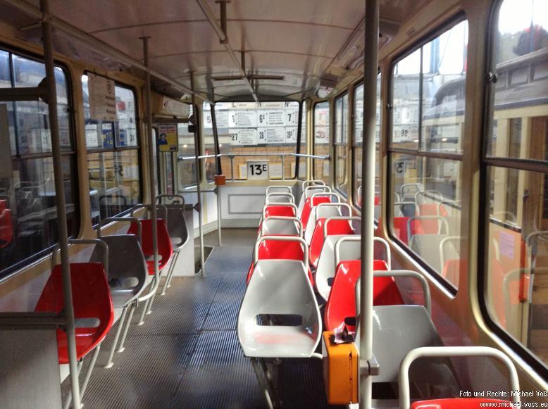 Straßenbahnmuseum Leipzig: Manch eine Tatra fähr heute noch so herum