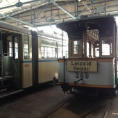 Straßenbahnmuseum Leipzig: Wagen 349