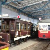 Straßenbahnmuseum Leipzig: Wagen 95 und 1378
