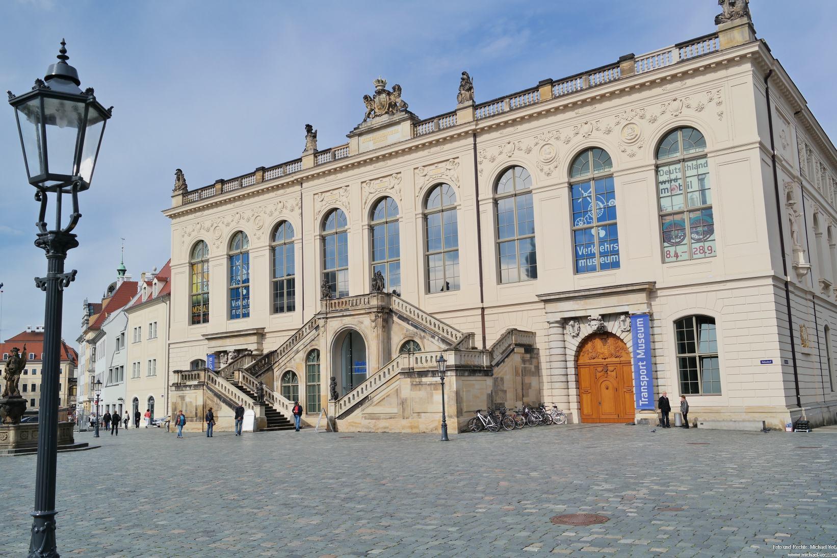 Dresden: Neumarkt und Verkehrshistorisches Museum