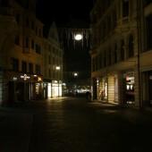 Halle: Leipziger Straße, Markt (23.11.14)