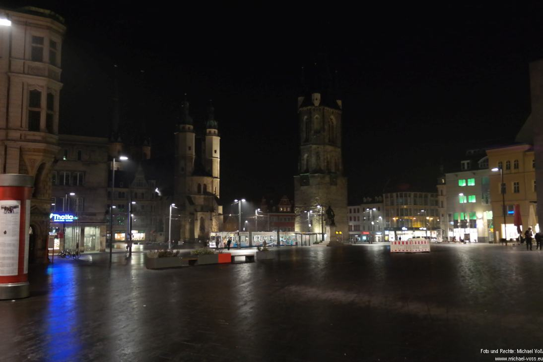 Halle: Markt (23.11.14)