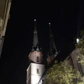 Halle: Marktkirche (23.11.14)
