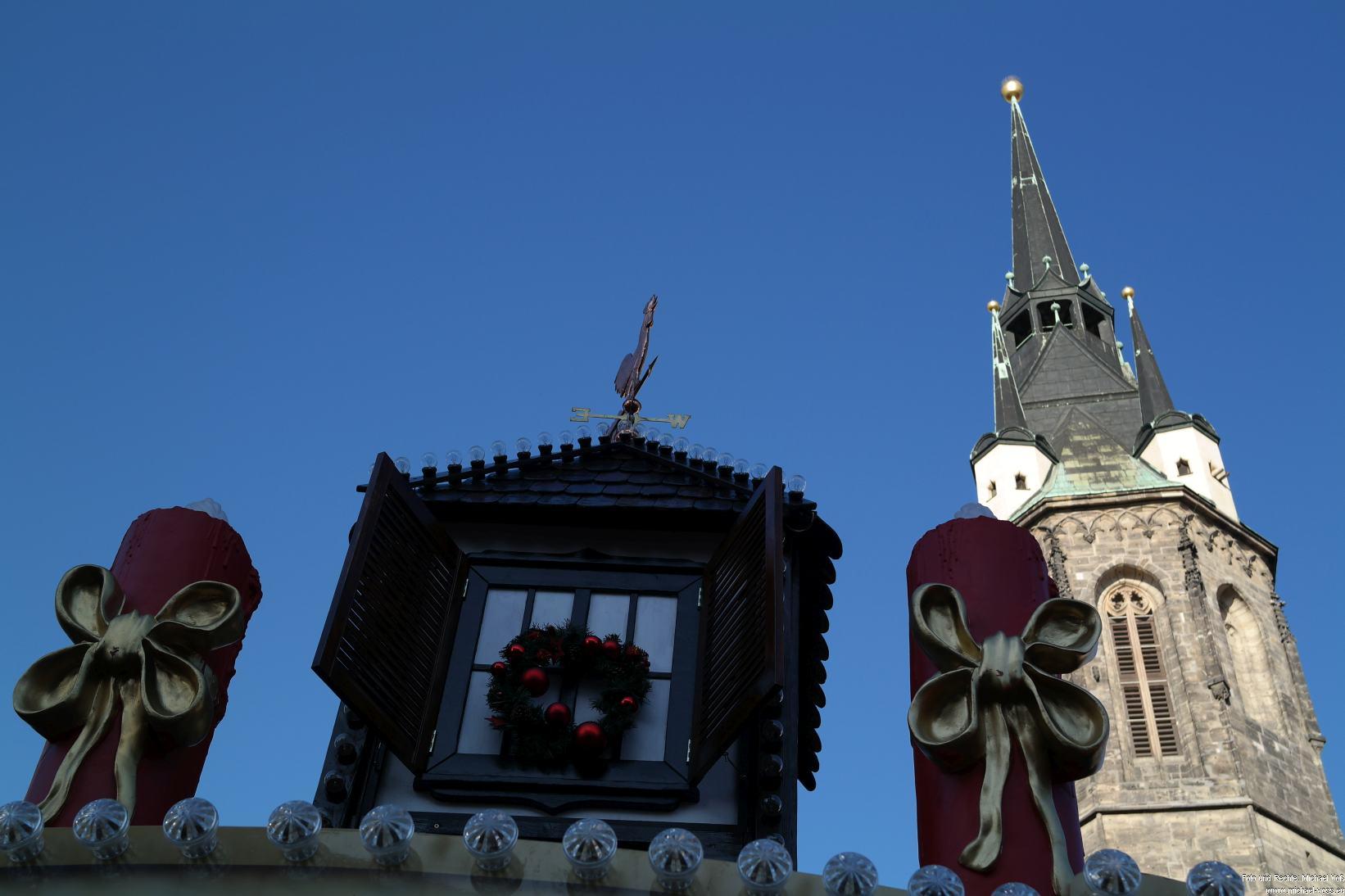 Halle: Weihnachtsmarkt (23.11.14)