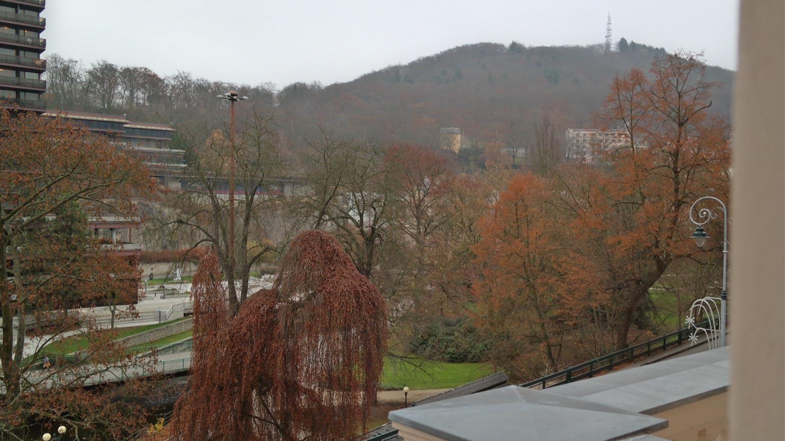 Karlsbad: Blick aus dem Hotel Humboldt