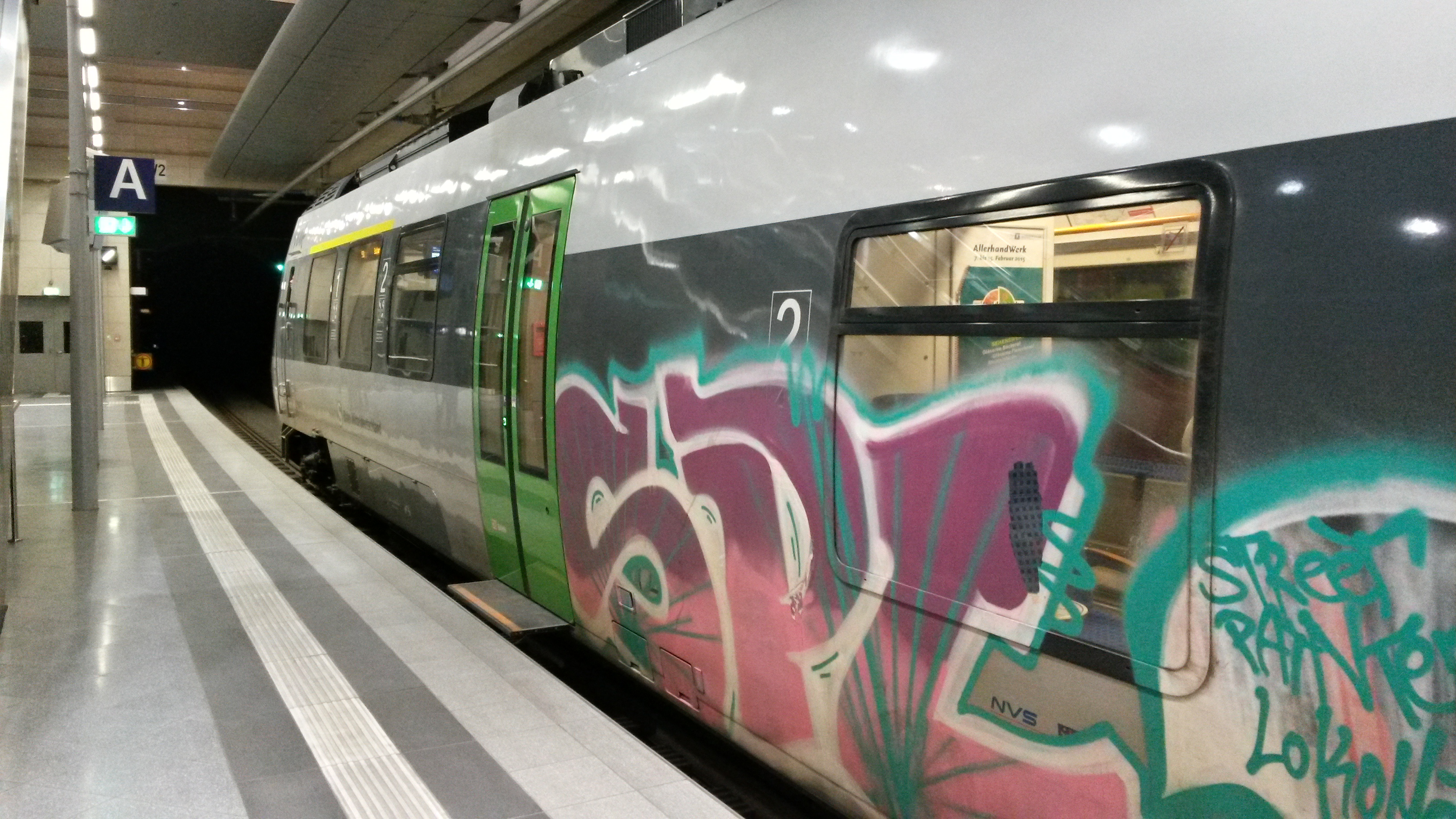 Leipzig: Die S5X verkehrt nach dem Anschlag vom Freitag wieder durch den City-Tunnel.