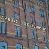 Hafenbehörde in der Hamburger Speicherstadt